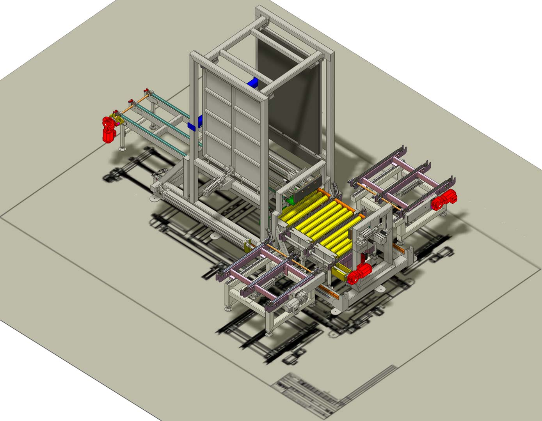 Stationary Load Inverter Pallet Inverter Bulle Pallet: Stationary Pallet Changer, Pallet Inverter And Pallet Turner