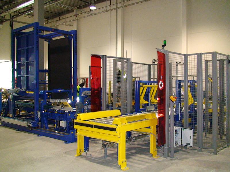 Stationary Load Inverter Pallet Inverter Bulle Pallet: Toppy Pallet Changer, Pallet Turner, Pallet Inverter